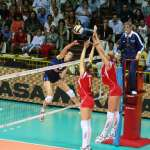 World League - Italia-Russia - schiacciata Togut