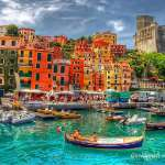 Lerici visto in hdr